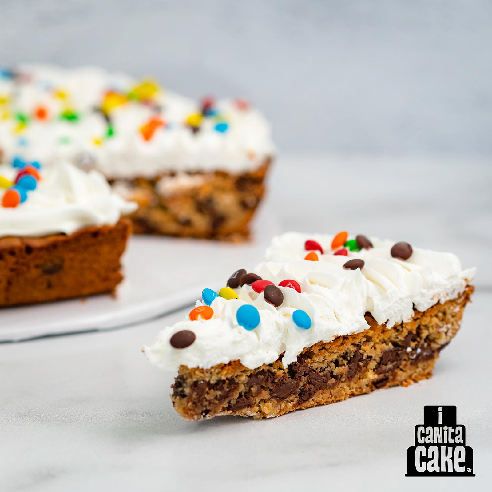 Cookie Cake Slice