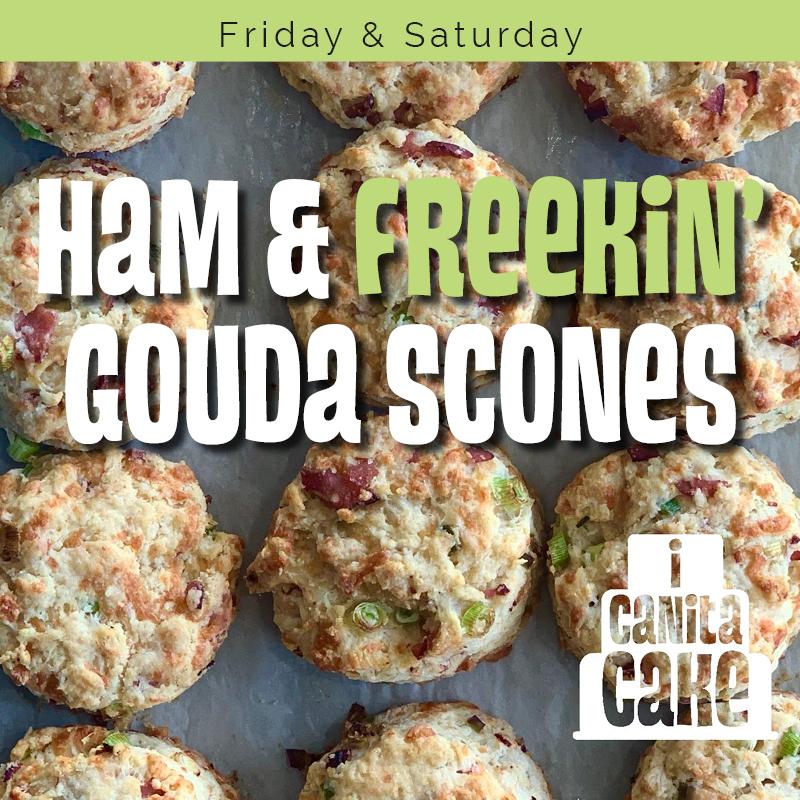 Ham & Gouda Chees Scones
