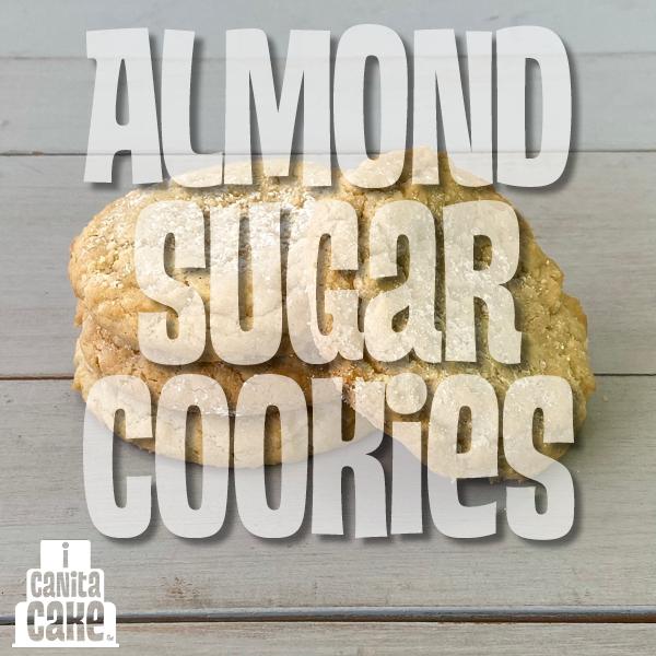 Almond sugar cookies 2