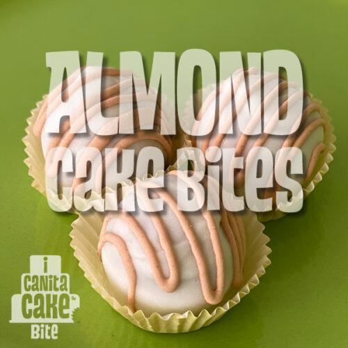 Almond Cake Bites by I Canita Cake