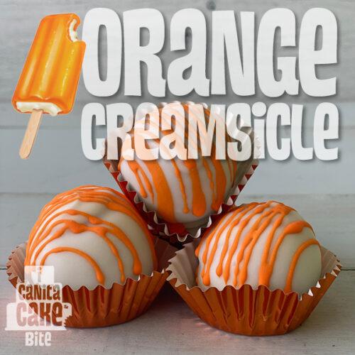 Orange Creamsicle Cake Bites by I Canita Cake