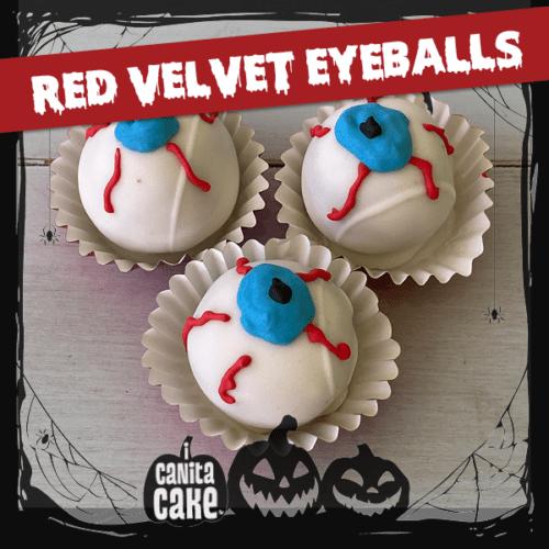 Red Velvet cake bites by I Canita Cake