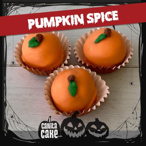Pumpkin Spice cake bites by I Canita Cake