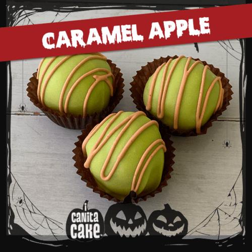 Caramel Apple cake bites by I Canita Cake